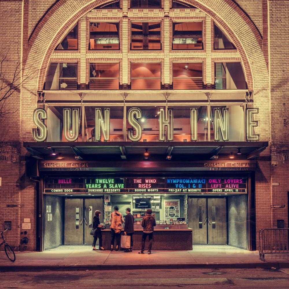 Sunshine Cinema, New York, NY, 2014