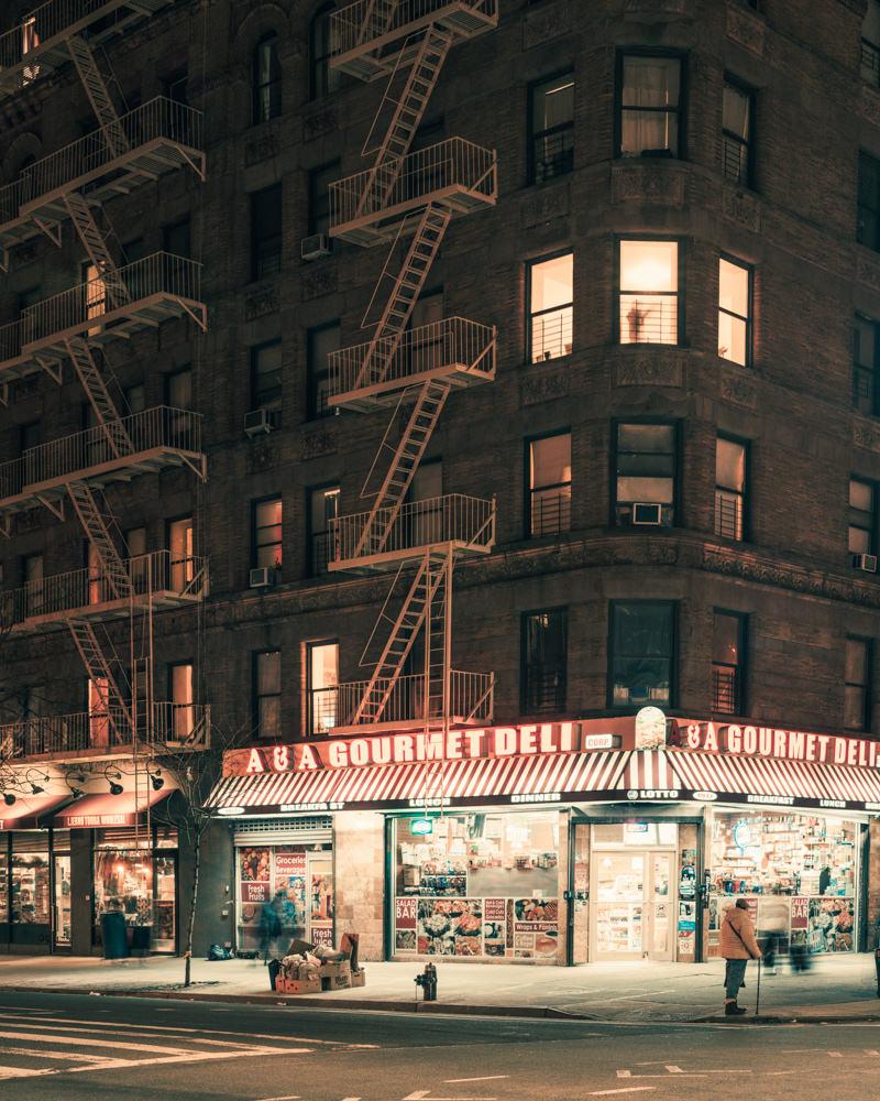 Gourmet Deli, Harlem, New York, NY, 2015