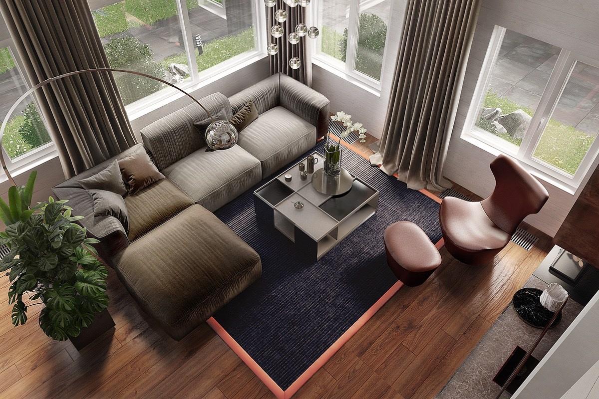 arco-floor-lamp-in-modern-living-room