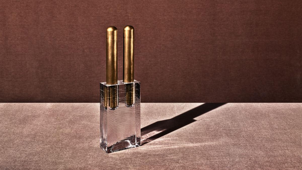 apparatus-block-double-vase-aged-brass-mohair-high