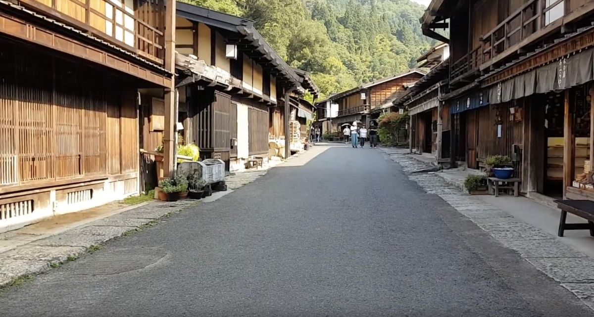 5SEC 294 (妻籠宿,Tsumago-juku, Japan, August 2018)