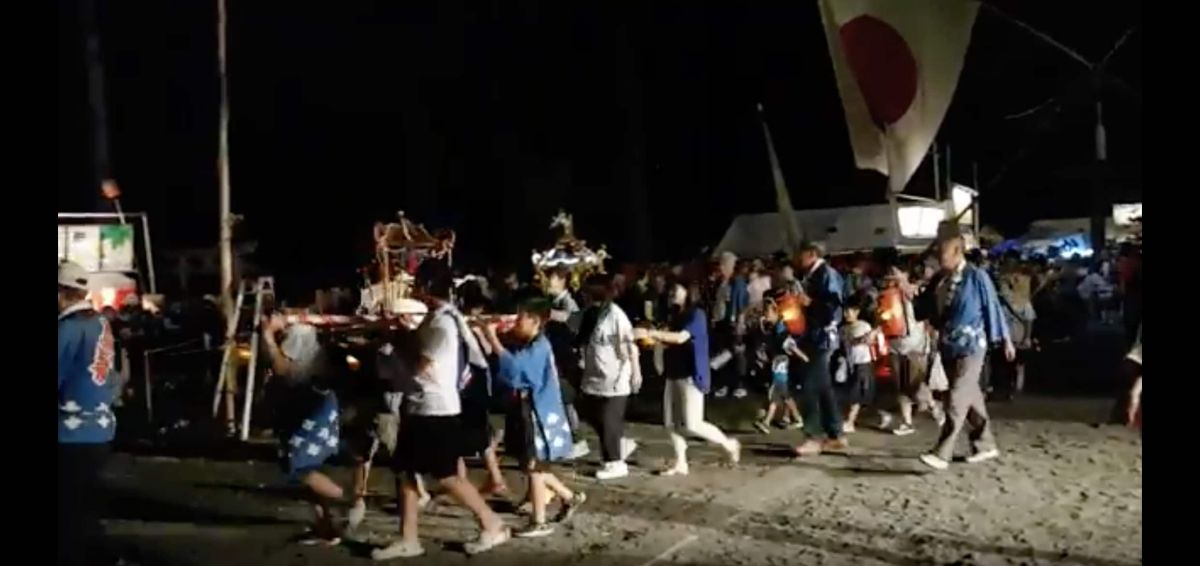 5SEC 317 (Yatakasuwa Shrine Festival,矢高諏訪神社お祭り, Japan, August 2018)