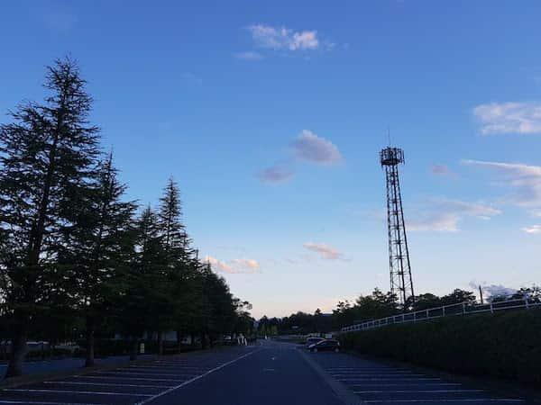 飯田運動公園の空模様,akihikogoto.com