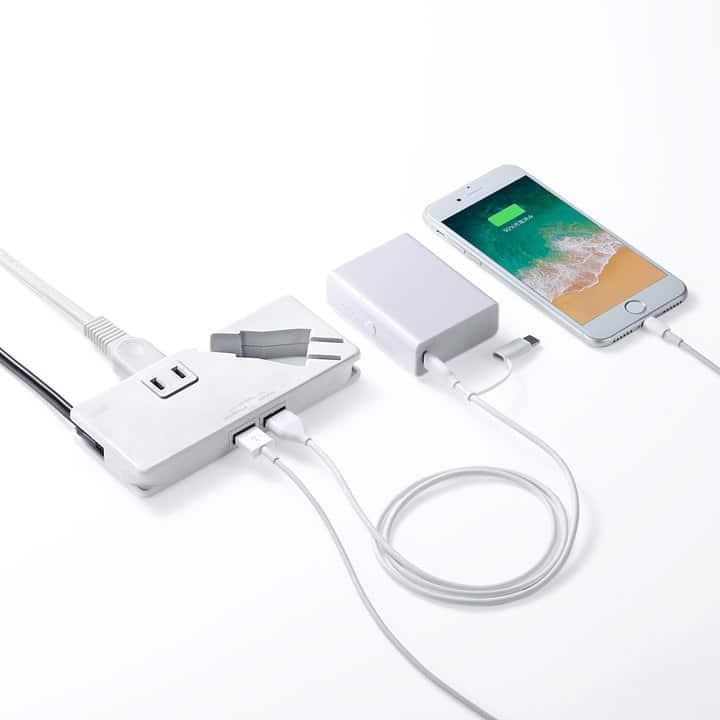超薄型の電源タップ「TAP-MU1」,akihikogoto.com
