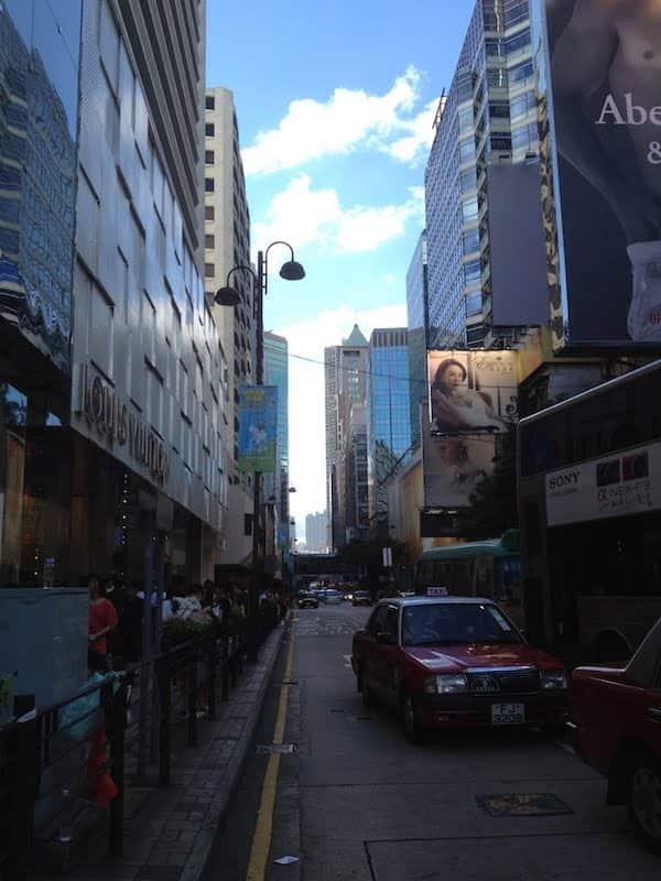 City walking in Hong Kong July 2012, akihikogoto.com