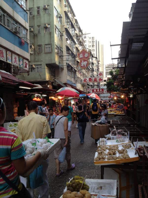 Hong Kong City walk with friends in July 2012, akihikogoto.com