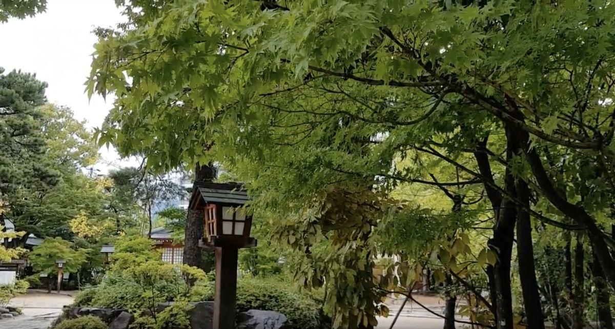 Yohashira Shrine, 四柱神社, 松本,