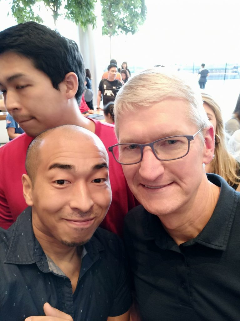 With TIm Cook