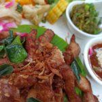 このカフェいろいろ美味しかったな〜。#color #shape #thaifood